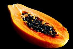 Papaya kerne